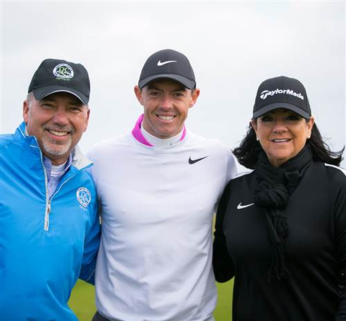 Lucky Competition Winners Tee it Up with Rory!