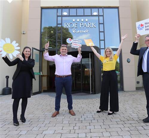 Roe Park Resort launches partnership with local cancer charities