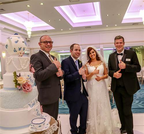 Roe Park Resort lends Helping Hands to wedding couple