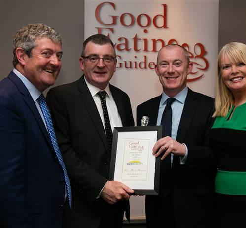 Roe Park Resort Scoops Restaurant Award Win