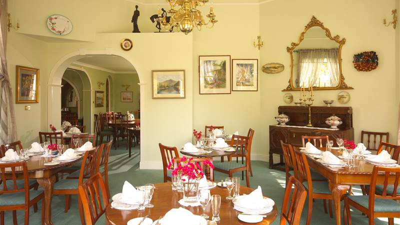 Breakfast in the Dining room - Seaview House Hotel
