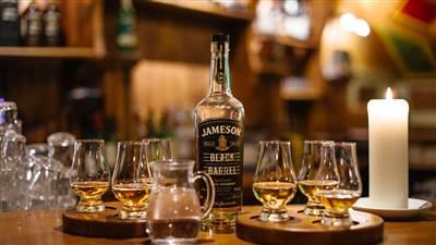 Whiskey at The Skeff Bar