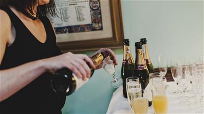 Wedding Reception - Bubbly
