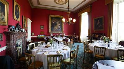2nd Dining Room if numbers exceed 120