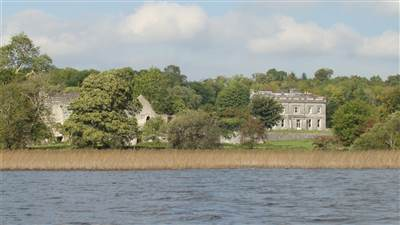 Temple House From the Lake