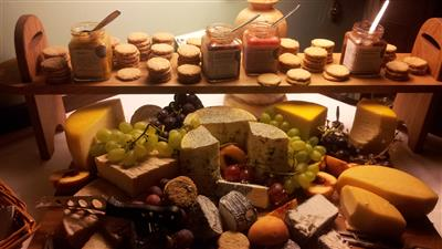 Wedding Cheese Board for grazing later