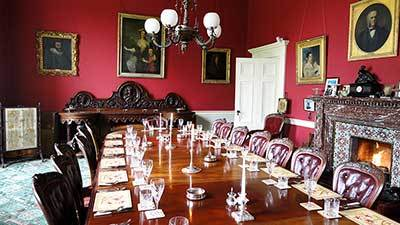 Temple House diningroom 1