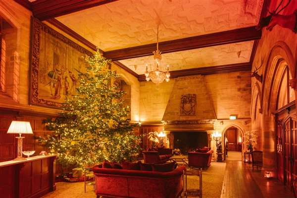 Winter Castle Luxury Escape 2 Nights B&B with Dinner on one evening