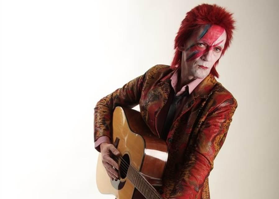 Stuart Roach as David Bowie